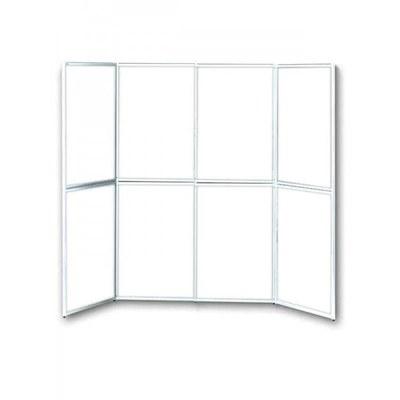 ALLEGRO PLUS Faltdisplay Rahmen-Faltdisplay 8-teilig für Papierplakate DIN A1 (594x841mm) - ALLEGRO-PLUS-Faltdisplay-8-teilig