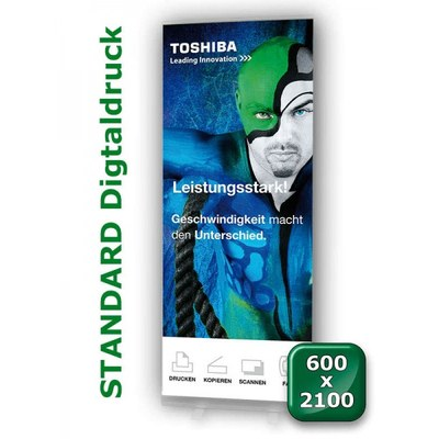 Grafikbahn Standard 600 mm Format: 600x2.100mm Banner 600x2100 mm - grafikbahn-standart-600x2100
