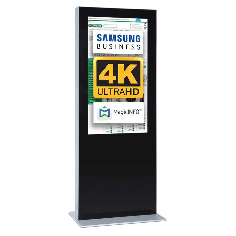 Digitale Infostele einseitig 85 zoll schwarz   4K.jpg