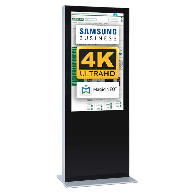 Digitale Infostele einseitig 75 zoll schwarz 4K.jpg
