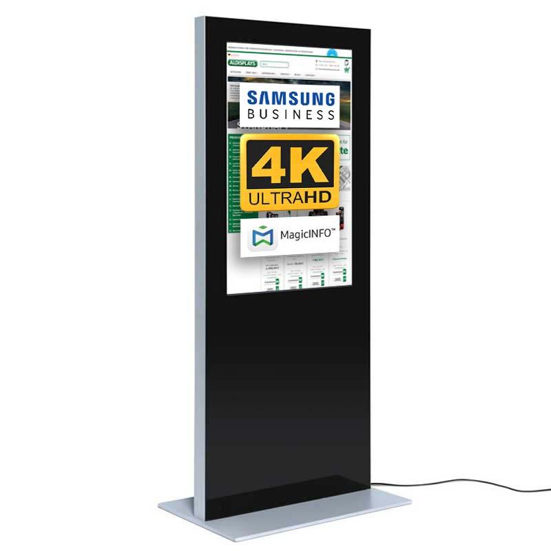 Digitale Infostele Slim einseitig 55 zoll schwarz 4K.jpg