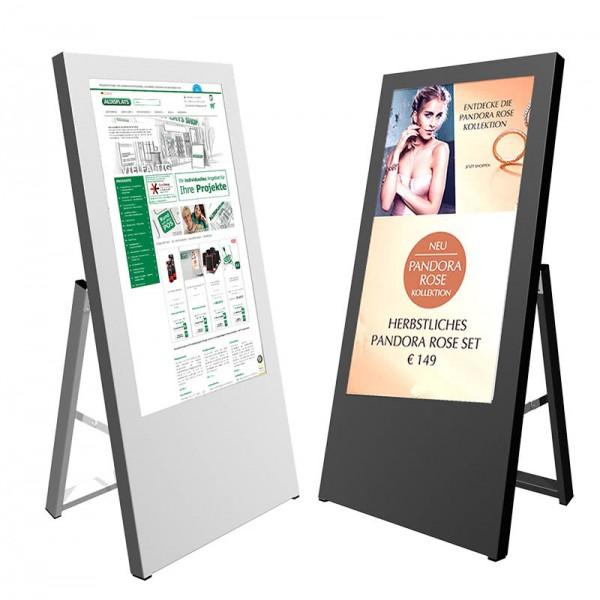 digitaler kundenstopper 32 zoll 1