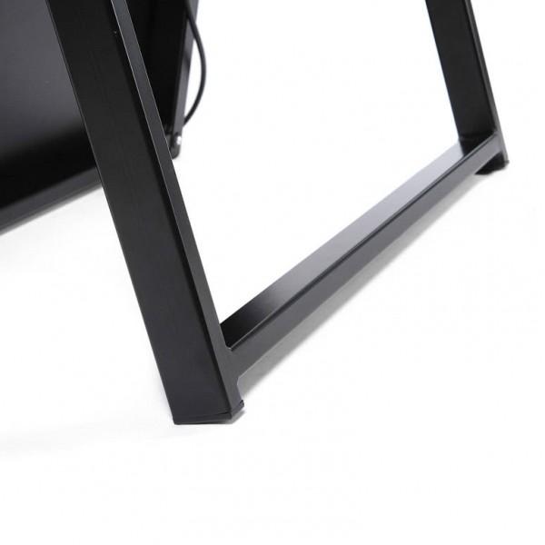 digitaler kundenstopper schwarz 43zoll detail3 1