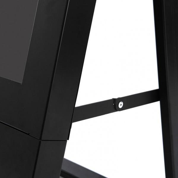 digitaler kundenstopper schwarz 43zoll detail2 2
