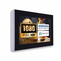 Digital Signage Digitales Info-Display - Querform. einseitiger 32 Zoll-Bildschirm - schwarz - Full HD zur Wandmontage - Digitale Info Display Querformat 32er Full HD