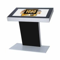 Digital Signage Digitales Kiosk - Querformat einseitiger 32 Zoll-Bildschirm - schwarz - Full HD incl. Samsung-LED Display für den 24/7-Einsatz - Digitales Kiosk 32 zoll Full HD