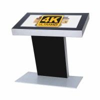 Digital Signage Digitales Kiosk - Querformat einseitiger 49 Zoll-Bildschirm - schwarz - 4K UHD incl. Samsung-LED Display für den 24/7-Einsatz - Digitales Kiosk 49 zoll 4K
