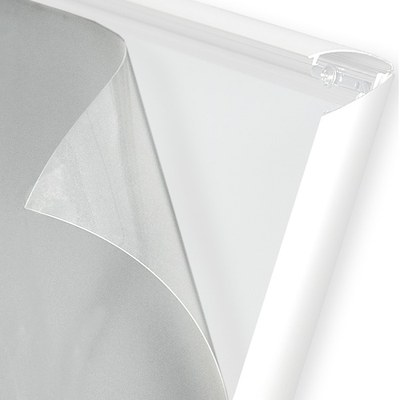 Antireflexschutzfolie DIN A0 - 1.189 x 841mm - Standard-Ausführung Ersatzbedarf Klapprahmen - Antireflexfolie Ersatz 2020