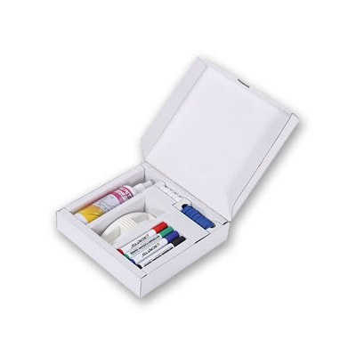 Whiteboard & Flip-Chart - Starterset Bestehend aus: Whiteboardmarker (rot/blau/grün/schwarz) - whiteboard-zubeh r-starterkit 1