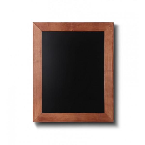 Holz-Wand-Kreidetafel-eckiges-Profil-300x400-hellbraun
