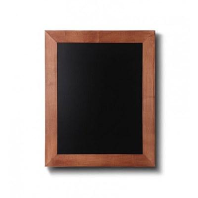 Holz-Wand-Kreidetafel (Profil: eckig) Format: 300x400mm Farbe des Holzrahmens: hellbraun - Holz-Wand-Kreidetafel-eckiges-Profil-300x400-hellbraun