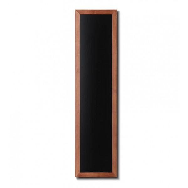 Holz-Wand-Kreidetafel-eckiges-Profil-350x1500-hellbraun