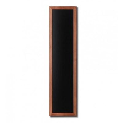 Holz-Wand-Kreidetafel (Profil: eckig) Format: 350x1500mm 350x1.500 mm - Holz-Wand-Kreidetafel-eckiges-Profil-350x1500-hellbraun