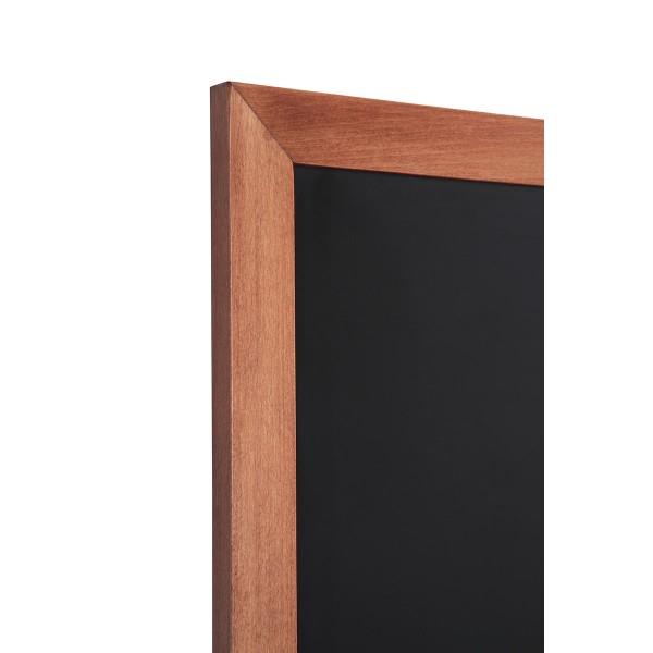 Holz-Wand-Kreidetafel-eckiges-Profil-hellbraun-Detail 1