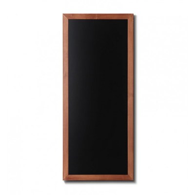 Holz-Wand-Kreidetafel (Profil: eckig) Format: 560x1200mm 560x1.200 mm - Holz-Wand-Kreidetafel-eckiges-Profil-560x1200-hellbraun