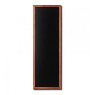 Holz-Wand-Kreidetafel (Profil: eckig) Format: 560x1500mm Farbe des Holzrahmens: hellbraun - Holz-Wand-Kreidetafel-eckiges-Profil-560x1500-hellbraun