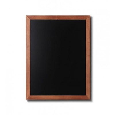 Holz-Wand-Kreidetafel (Profil: eckig) Format: 600x800mm 600x800 mm - Holz-Wand-Kreidetafel-eckiges-Profil-600x800-hellbraun