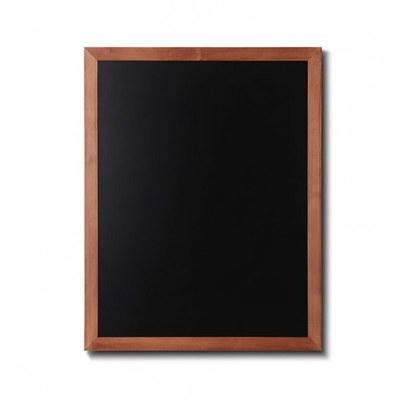 Holz-Wand-Kreidetafel (Profil: eckig) Format: 700x900mm 700x900 mm - Holz-Wand-Kreidetafel-eckiges-Profil-700x900-hellbraun