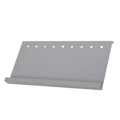 Prospektablage - ELLIPSE Kombi A1 zur einseitigen Anbringung (1 Stück) Material: Aluminiumblech - infost nder-mono-detail-ablage