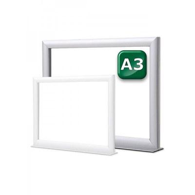 Infotopper-Einschubrahmen Format: DIN A3 quer, doppelseitig DIN A3 (297x420 mm) - Infotopper-DIN-A3-JPG