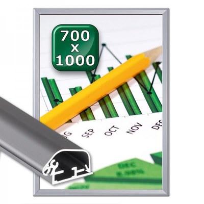 Klapprahmen Safety Einlegeformat: 700x1.000 mm 700x1000 mm - Klapprahmen-safety 700x1000 32er