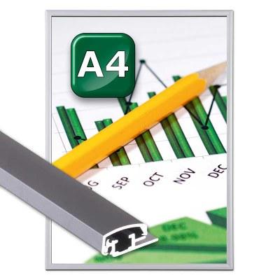Klapprahmen Safety Einlegeformat: DIN A4 DIN A4 (210x297 mm) - Klapprahmen-safety A4 20er