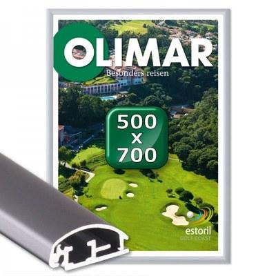 Klapprahmen Standard Einlegeformat: 500x700 mm 500x700 mm - Klapprahmen 500x700 25mm Gehrung