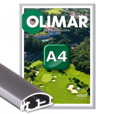 Klapprahmen Standard Einlegeformat: DIN A4 (210x297 mm) DIN A4 (210x297 mm) - Klapprahmen A4 25mm Gehrung