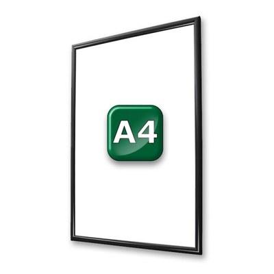 Klapprahmen Standard Einlegeformat: DIN A4 (210x297 mm) DIN A4 (210x297 mm) - klapprahmen-25er-profil-gehrung-swz-a4