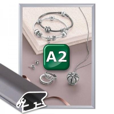 Klapprahmen Standard Einlegeformat: DIN A2 (420x594 mm) DIN A2 (420x594 mm) - Klapprahmen A2 32mm Gehrung