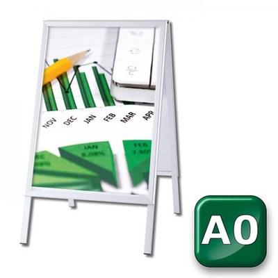 Kundenstopper OUTDOOR Einlegeformat: DIN A0 (841x1.189 mm) DIN A0 (841x1189 mm) - Kundenstopper-Outdoor-DIN-A0-Gehrung