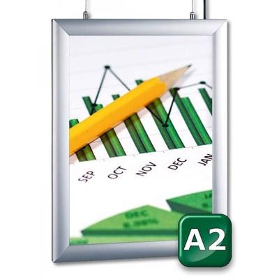 Leuchtkasten MODULIGHT Ausführung: doppelseitig DIN A2 (420x594 mm) - leuchtkaesten-modullight-doppelseitig-DINA2