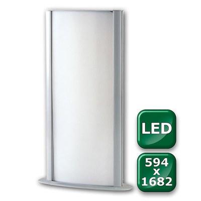 Leuchtsäule WAYLIGHT Einlegeformat: 594x1.682mm 594x1.682 mm - Leuchtkasten-Waylight-545x1682-LED