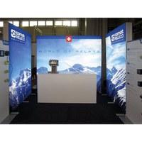 No-Frame Leuchtkasten Farbe: silber-eloxiert - mit einseitiger außenliegender Nut zur Spannung - No-Frame-Leuchtdisplay-Comat-1