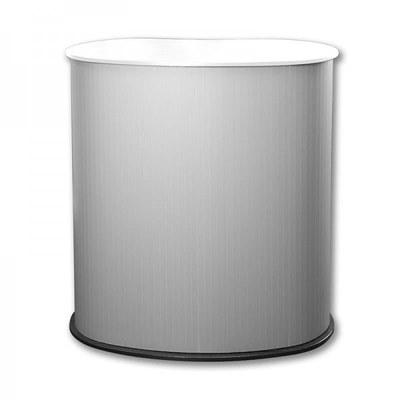 Promotiontheke Counter DESIGN mit Deckelplatte in WEISS / OHNE Druck None - Counter-Design-ohne-Druck-weiss 2