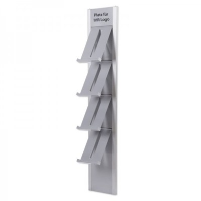 Prospektständer DESIGN Wandmodell - prospektst nder design wandmontage 1
