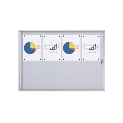 Schaukasten ECO BT26 Indoor 2x4 DIN A4 (Außenformat: 931x655mm) 8x DIN A4 - Schaukasten BT26  Indoor 2x4