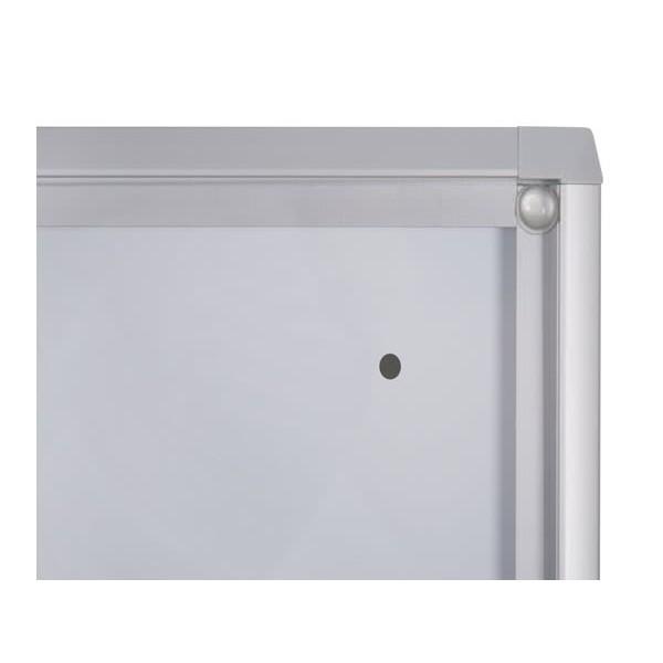 Schaukasten ECO BT26 Indoor Detail Eckverbindung 7