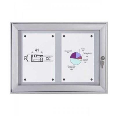 Schaukasten Flat BT23 Indoor/Outdoor 2x1 DIN A4 (Außenformat: 521x388mm) 2x DIN A4 - Schaukasten Flat BT23.jpeg