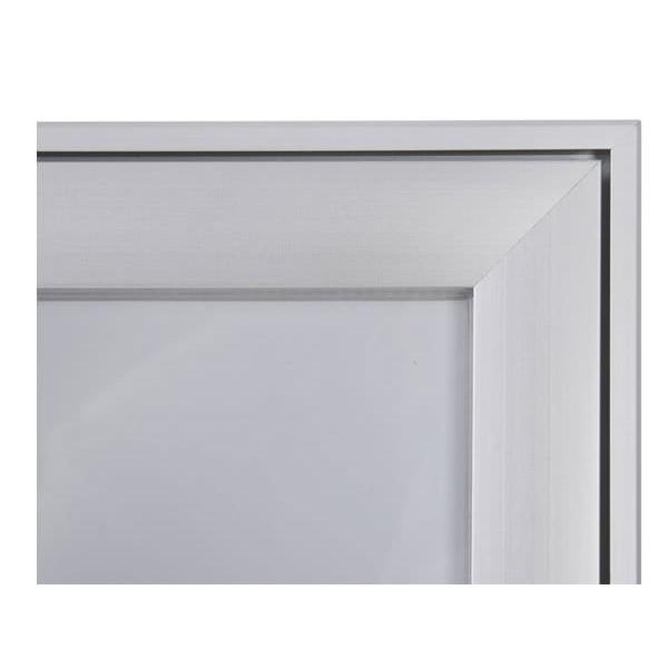 Schaukasten FLAT BT23 Indoor Outdoor Detail Eckverbindung