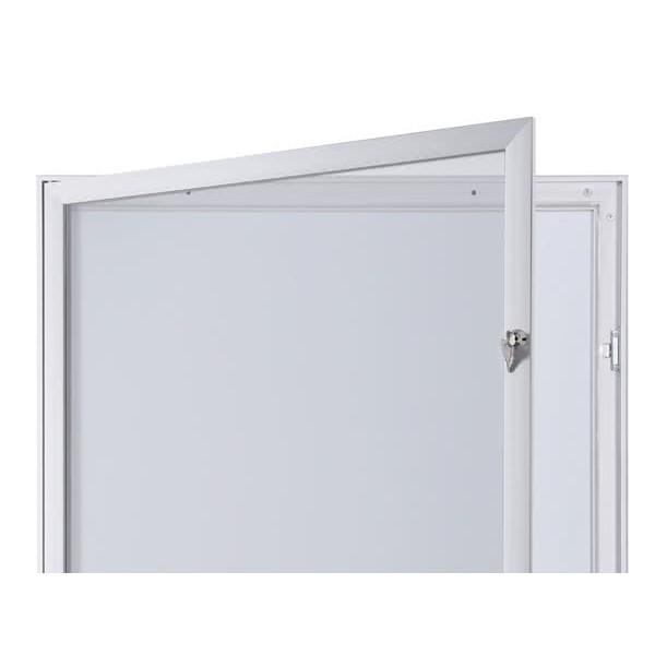 Schaukasten FLAT BT23 Indoor Outdoor Detail Offen 4