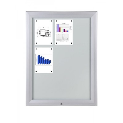Schaukasten Premium BT46 Outdoor 3x3 DIN A4 (Außenformat: 805x1.067mm) Gehäuse und Rahmen aus Aluminium - Schaukasten PREMIUM BT46 Outdoor