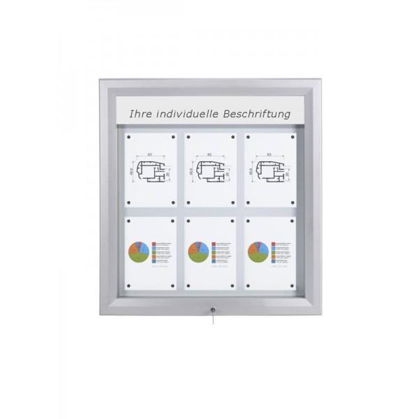 Schaukasten PREMIUM LED BT46 Outdoor 3x2