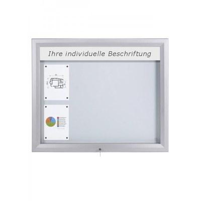 Schaukasten Premium BT46 Outdoor LED 4x2 DIN A4 (Außenformat: 1.025x860mm) Gehäuse und Rahmen aus Aluminium - Schaukasten PREMIUM LED BT46 Outdoor 4x2