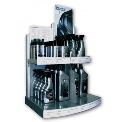 Sonderdisplays THEKE Individuelle Ausführung & Format - Acryl-Aluminium-Display-BMW-Care