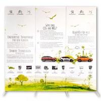 Stellwand aus Pappe in verschiedenen Formaten und Ausführungen (Abbildung beispielhaft) - stellwand pappe front