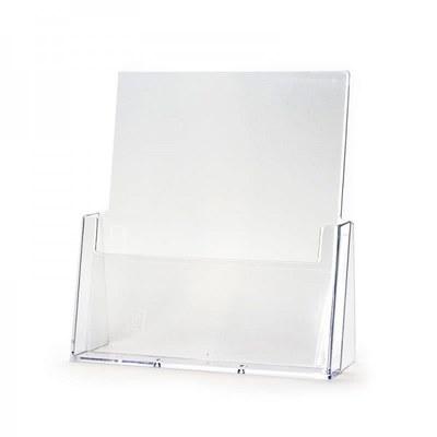 Tischständer - Einzel Einlegeformat: DIN A4 (210x297 mm) DIN A4 (210x297 mm) - Dispenser-DIN-A4-Tisch-Hochformat-PRO200