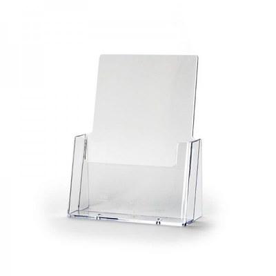 Tischständer - Einzel Einlegeformat: DIN A5 (148x210 mm) DIN A5 (148x210 mm) - Dispenser-DIN-A5-Wand-Hochformat-Pro199