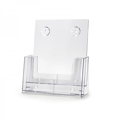 Tischständer - Mehrfach Einlegeformat: DIN A4 (210x297 mm) DIN A4 (210x297 mm) - Dispenser-DIN-A4-2-fach-SEP01