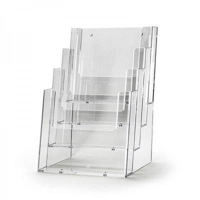 Tischständer - Mehrfach Einlegeformat: DIN A5 (148x210 mm) DIN A5 (148x210 mm) - Dispenser-DIN-A5-4-fach-Tisch-PRO56